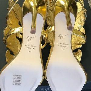 821a683b0d7f Giuseppe Zanotti Shoes - New Giuseppe Zanotti Cruel Gold Crystal 7 US